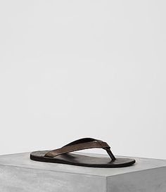 ALLSAINTS REEF LEATHER SANDAL. #allsaints #shoes #