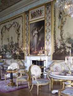 Inveraray Castle: The Tapestry Drawing Room
