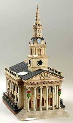 DEPT 56 DICKENS VILLAGE ST. MARTIN-IN-THE-FIELDS CHURCH 58471 RARE NEW