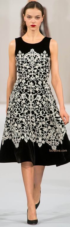 Oscar de la Renta -cute,classy and attractive www.adealwithGodbook.com