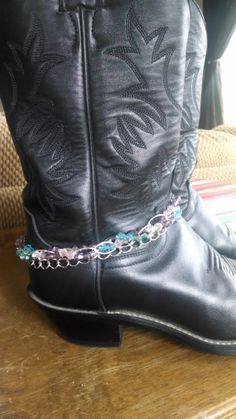 Silver Plated & Gun Metal Chains Purple Lavender by MemesShoppe, $17.00