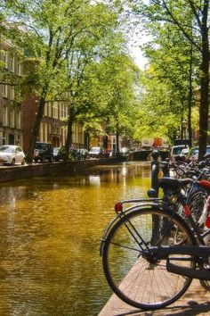 CANALS ~ AMSTERDAM ~ NETHERLANDS