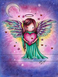 Miss my angel … my youngest daughter ANNALISA.MAMA miss …- Missing my angel … my youngest daughter ANNALISA.MAMA misses you 😘 Ÿ … - therezepte sites Angel Images, Angel Pictures, I Believe In Angels, Angels Among Us, Angel Cards, Angels In Heaven, Guardian Angels, Cute Art, Painted Rocks