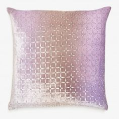 Kevin O'brien Iris Petal Flower Velvet Pillow