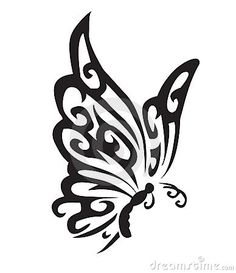 Illustration about Vector illustration of a butterfly. Illustration of illustration, drawing, swirling - 23214793 Tribal Butterfly Tattoo, Butterfly Stencil, Butterfly Drawing, Butterfly Tattoo Designs, Butterfly Illustration, Drawing Stencils, Stencil Art, Motifs Islamiques, Zealand Tattoo