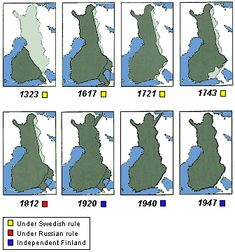 (The Russian Bear has always been chasing after The Finnish Maiden - Suomi Neito - as Finns call their country by the shape of it. History Of Finland, Finland Travel, Map Pictures, The Beautiful Country, Prehistory, Historical Maps, My Heritage, Helsinki, Norway