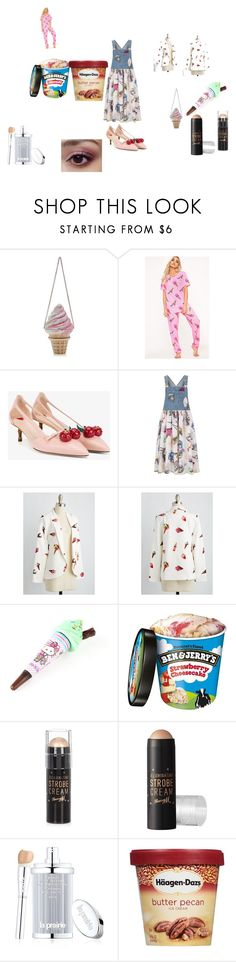 """iez cremmmm"" by xo-emoji on Polyvore featuring Gucci, Kenzo, Hello Kitty, River Island, Barry M and La Prairie"