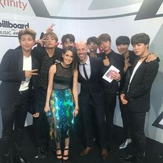 BTS with Daughtry ❤