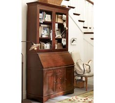 Graham Desk & Hutch | Pottery Barn entry way?