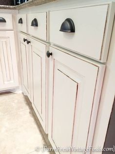 Kitchen Cabinet Refacing on a Budget - Farm Fresh Vintage Finds