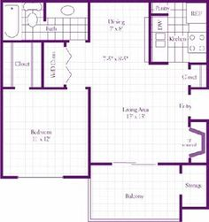 The Woodland Floor Plan at The Wilson Crossing Apartments in Cedar Hill, TX Cedar Hill, Living Environment, Apartments, Woodland, New Homes, Floor Plans, Flooring, How To Plan, New Home Essentials