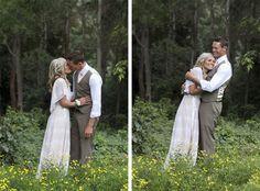 pretty forrest wedding shoot