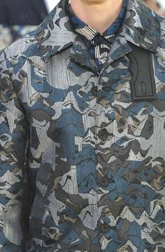 Prints, Patterns And Details From Recent Paris Fashion Week (Menswear Spring/Summer 2015) / 9