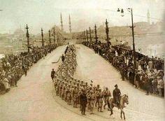 6 ekim 1923 istanbulun işgalden kurtuluşu ordu istanbula giriyor