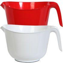 Plastic Mixing Bowls with Handles, 2½ qt.