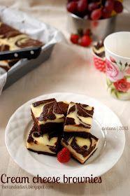 Beranda Devi: Cream cheese brownies