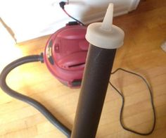 Condiment bottle top on end of shop vac hose, to suck smaller spaces (photo only) ~Home Hacks~ Diy Home Cleaning, Household Cleaning Tips, Deep Cleaning Tips, Cleaning Checklist, House Cleaning Tips, Diy Cleaning Products, Cleaning Solutions, Spring Cleaning, Cleaning Hacks