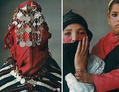 "From the Vogue Archives: Irving Penn's ""Veiled Mystery of Morocco""  Vogue December 1971"