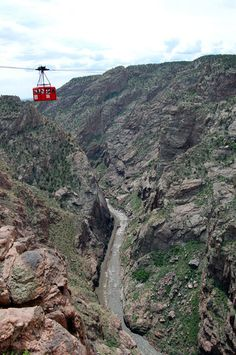 Gondola over the Royal Gorge - Colorado- Been to the royal gorge, but no gondola ride for me - I got on but quickly asked to get out! Then we just walked across the bridge.