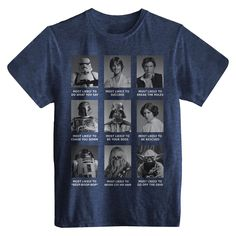 Men's Star Wars T-Shirt Navy