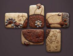 Penta-Pinwheel: Christopher Gryder: Ceramic Wall Art - Artful Home
