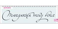 Kaligrafia Galana font download
