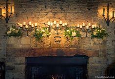 Cripps Barn Wedding, Barn Wedding Venue, Barn Wedding Flowers, Indoor Ceremony, Stone Barns, Wedding Stuff, Backdrops, Floral Design, Fire