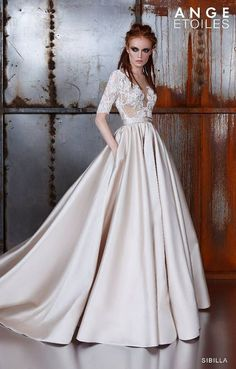 Lace wedding dress SIBILLA wedding dress wedding dress