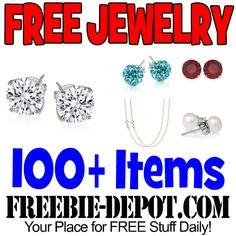 ►► FREE Jewelry - Rings, Bracelets, Earrings & More! 100+ Items to Choose from! ►► #Free, #FreeJewelry, #FREEStuff, #Freebie, #Frugal, #Jewelry ►►