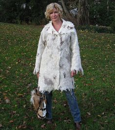 Hand felted wool coat jacket Wild West by ChicComplement on Etsy