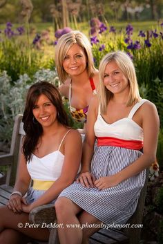 Lindsey, Michelle, and Laura. Great friends can have portraits made too!