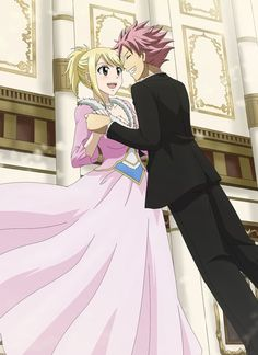 Fairy tail Natsu and Lucy / NaLu Fairy Tail Nalu, Fairy Tail Lucy, Fairy Tail Ships, Image Fairy Tail, Fairy Tail Guild, Fairytail, Jellal, Zeref Dragneel, Gruvia