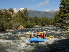 White Water Rafting in Colorado. Would love to do this someday.