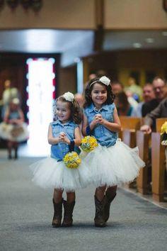 Tutu for Flower Girls - Wedding Stuff
