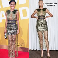 Jada Pinkett Smith in Sophie Theallet Spring 2017 at the 2017 NBA Awards