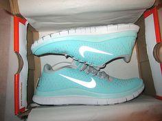 on sale 4f93b 71769 ... new zealand nike free 3.0 v4 womens running shoes size us 8 tropical  twist mint green