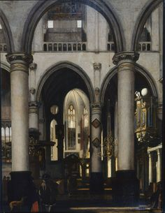 Emanuel de Witte - View of a church Interior - Google Art Project - Emanuel de Witte - Wikimedia Commons