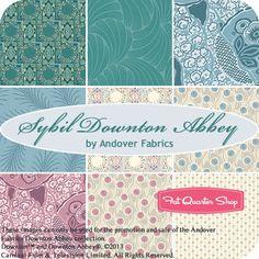 Sybil Downton Abbey Fat Quarter Bundle Andover Fabrics - Fat Quarter Shop......  UBER SQUEEEEEEEE!!!!