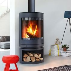 Award winning Emotion designer wood fireplace