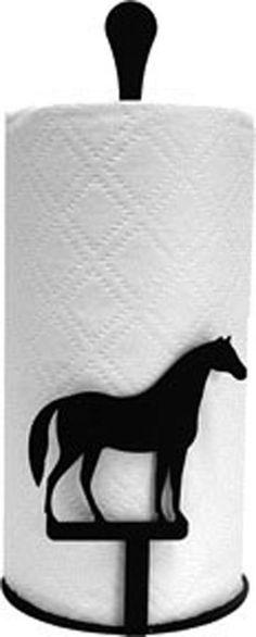 Mare /& Foal Running Horses Toilet Tissue Paper Holder