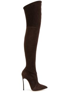 CASADEI | over-the-knee Blade boots #Shoes #CASADEI
