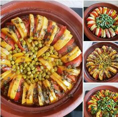 Tagine de legumes Ratatouille, Pasta Salad, Baking, Ethnic Recipes, Food, Kitchens, Crab Pasta Salad, Patisserie, Bread