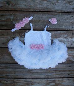 Baby tutu dress. Baby pettiskirt. Baby girl photo by KadeesKloset