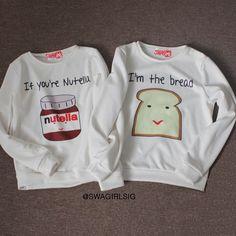 best friends matching sweatshirts