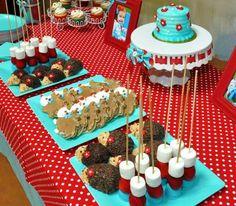 "Photo 7 of 26: Aqua & Red Hedgehog Party! / Birthday ""Aqua & Red 2nd Birthday!"" | Catch My Party"