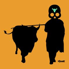 beef (by krane) Crane, Decoration, Skulls, Beef, Sugar, Silhouette, Movies, Movie Posters, Art