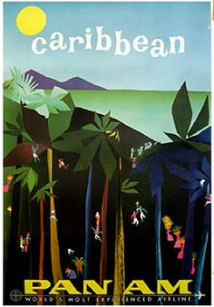 #Caribbean - Pan Am | vintage travel poster We guarantee the best price Easily find the best price and availabilty from all travel websites at once. We find more hotels Access over 2 million hotel and flight deals from 100's of travel sites.We cover the w