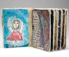 Learn how to use unusual materials for making handmade books and for book binding.