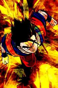 Mystic Gohan being all BA and stuff..