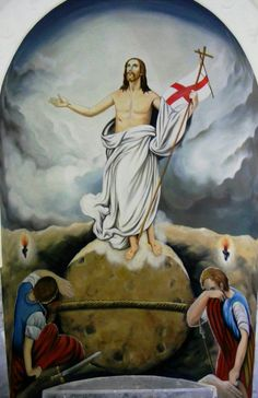 Christian Warrior, Christian Art, Jesus Walk On Water, Jesus Tomb, Pictures Of Jesus Christ, Jesus Painting, Religion Catolica, Guardian Angels, King Of Kings